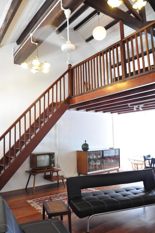 A loft bedroom in a heritage shophouse - Image 1 - Penang - rentals
