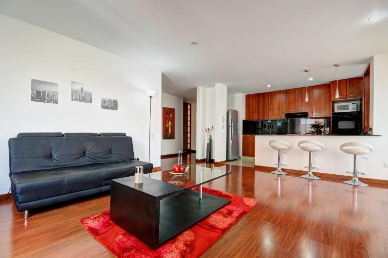 Slick Modern Unit Near Nightlife - Image 1 - Medellin - rentals