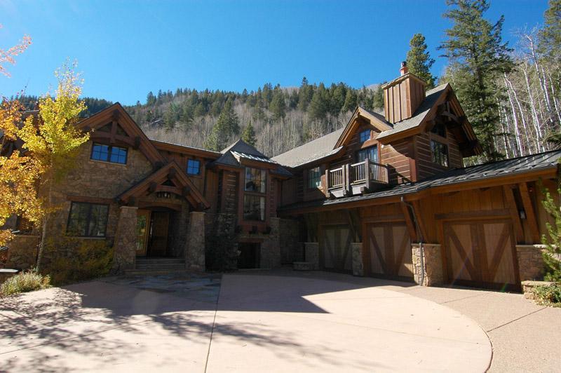 Bellevue Lodge front entry - Bellevue Lodge - Aspen - rentals
