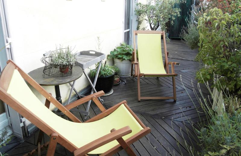 terrace - Close Montmartre et Opera, apartment with terrace - Paris - rentals