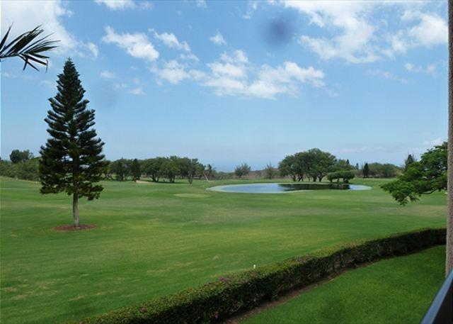 View from Lanai - A 210 Ground Level 2 Bedroom 2 Bath  with an ocean view!-WF A210 - Waikoloa - rentals