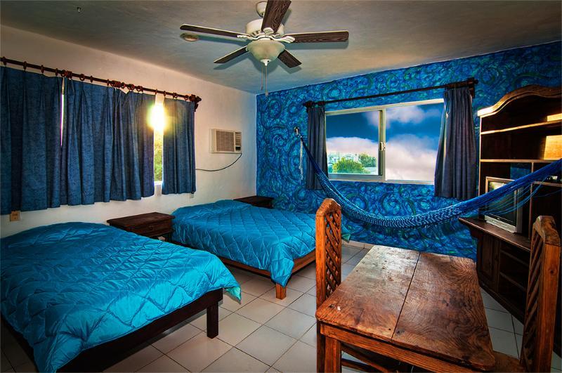 Blue apartment in Downtown Playa del Carmen - Image 1 - Playa del Carmen - rentals