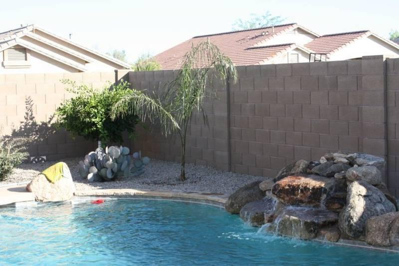 Pool with Waterfall - 3 BED HOUSE W/PRIVATE HEATED POOL - Queen Creek - rentals