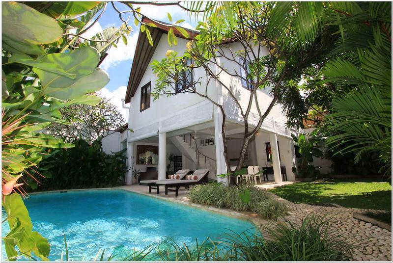 Villa Merta Sari 8 area - Central Seminyak Villa, 3 bedroom Tropical Modern Style with large pool - Seminyak - rentals