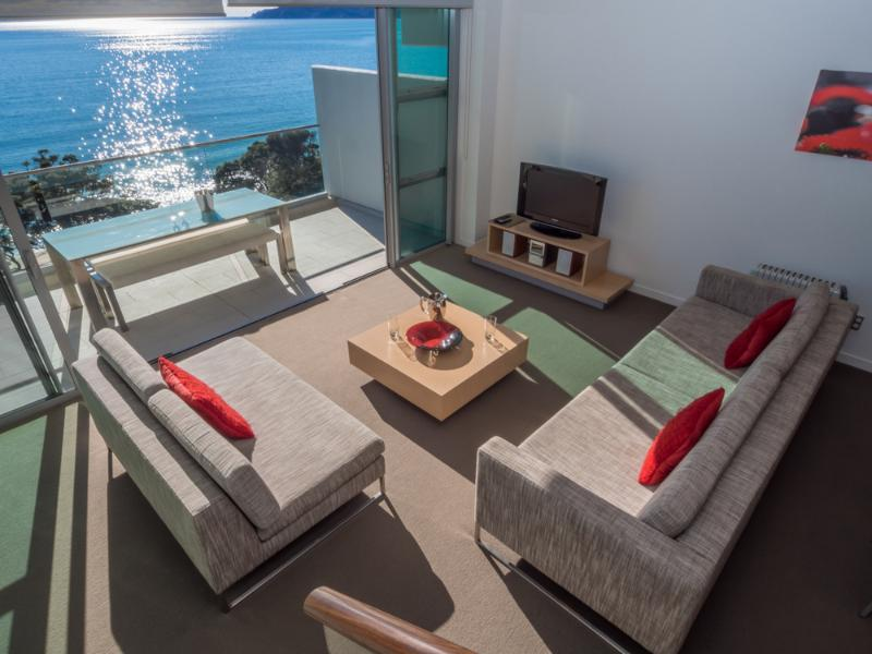 Villa Living area - Doubtless Bay Villas - Cable Bay - rentals