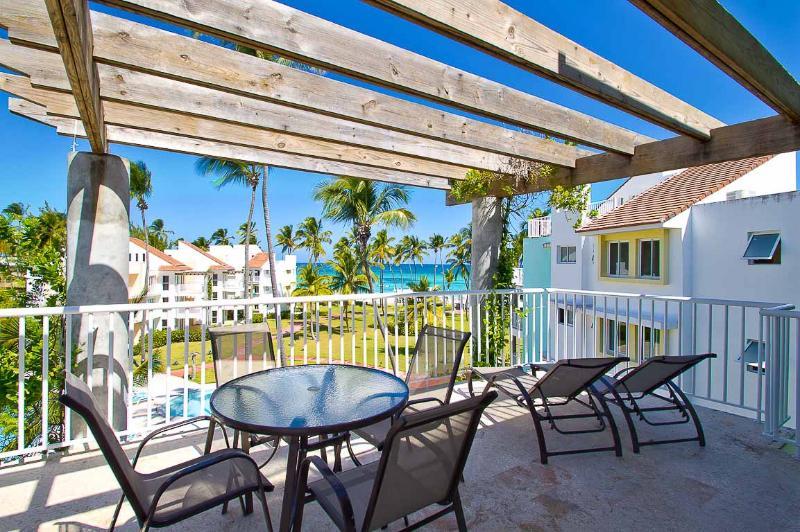 PLAYA TURQUESA  Ocean view - Penthouse - Image 1 - Bavaro - rentals