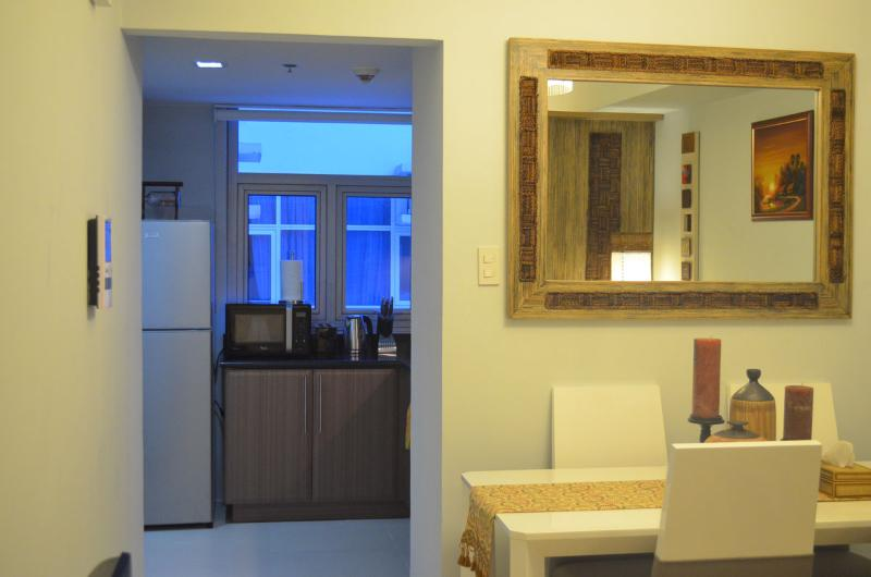 Living Room - Classy New 1 Bedroom Apartment - Greenbelt Makati - Makati - rentals