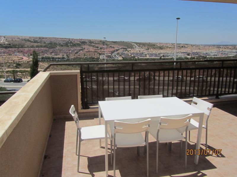 View from balcony. - Costa Blanca. New build with pool close to beach! - Alicante - rentals