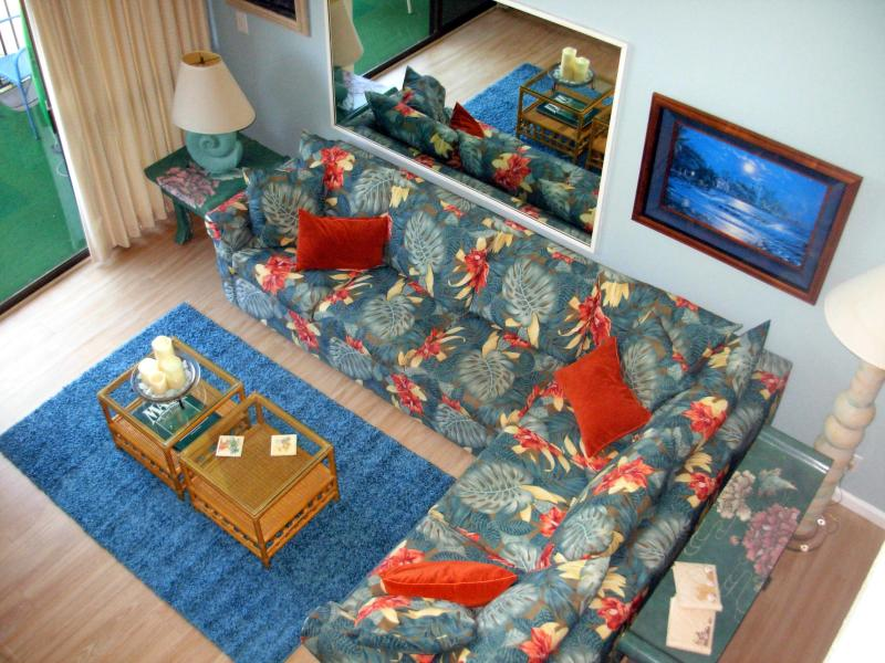 View from the second floor. - Beautiful Beachfront Condo-Just remodeled! - Maalaea - rentals