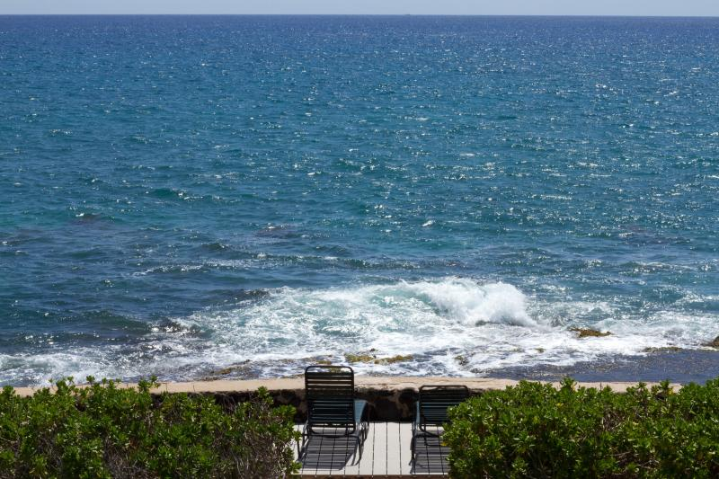 Any closer and you will get wet! - Oceanfront 3 - 5 BR / 2 - 3.5 BA House - Makaha - rentals