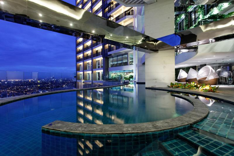 sky pool - Gramercy- Beautiful Studio with Good View - Makati - rentals