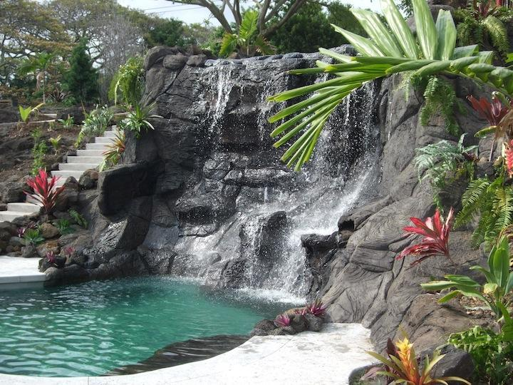 Tropical Paradise Home W Heated Pool, Spa, Falls1B - Image 1 - Holualoa - rentals