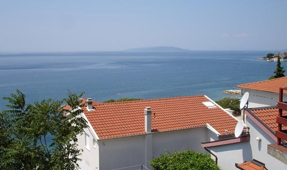 The view from the balcony 1 - Apartments Lasic - Gradac - rentals