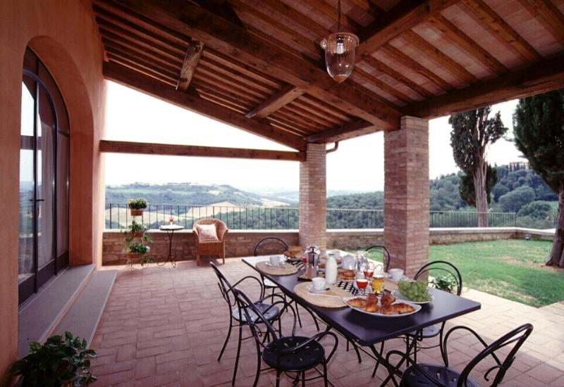 Pleasant Tuscan Apartment on Large Hillside Estate - Il Cortile del Borgo 14 - Image 1 - San Gimignano - rentals