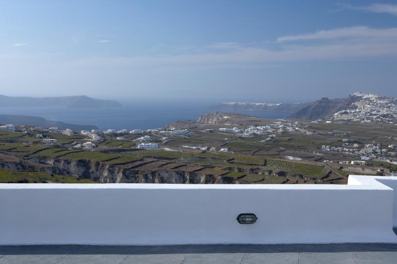 Luxury Greek Villa on Santorini in the Village of Pyrgos - Villa Pyrgos - Image 1 - Fira - rentals