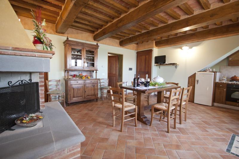 Villa with Pool Near Cortona in the Valdichiana - Villa Etrusca - Image 1 - Foiano Della Chiana - rentals