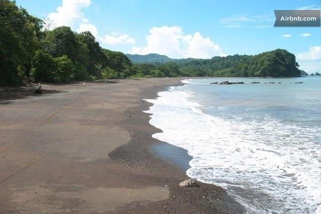 The Beach out front of the Villa - Private Beach Front Villa, Jeep-- Free Kayaks..! - Jaco - rentals