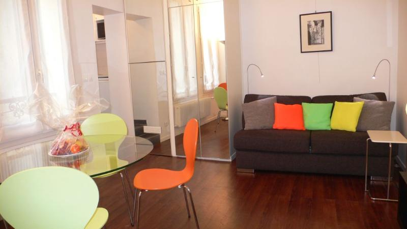 A well designed studio with two large windows openeing on a courtyard and a separate kitchen. - 392 Studio   Paris Montparnasse district - Paris - rentals