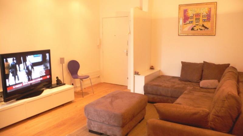 The living-room Big, bright and comfortable. - 506 One bedroom   Paris Le Marais district - Paris - rentals
