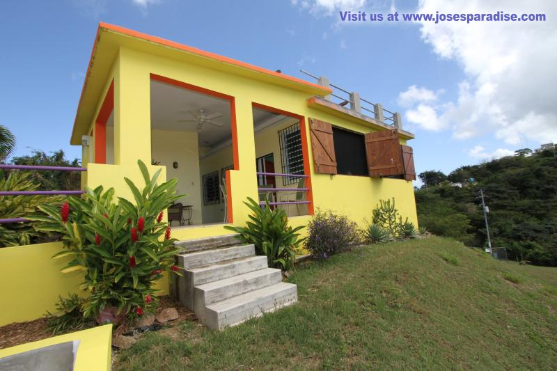 Close Up View of the house - Welcome to Jose's Paradise  Vieques, Puerto Rico - Isla de Vieques - rentals