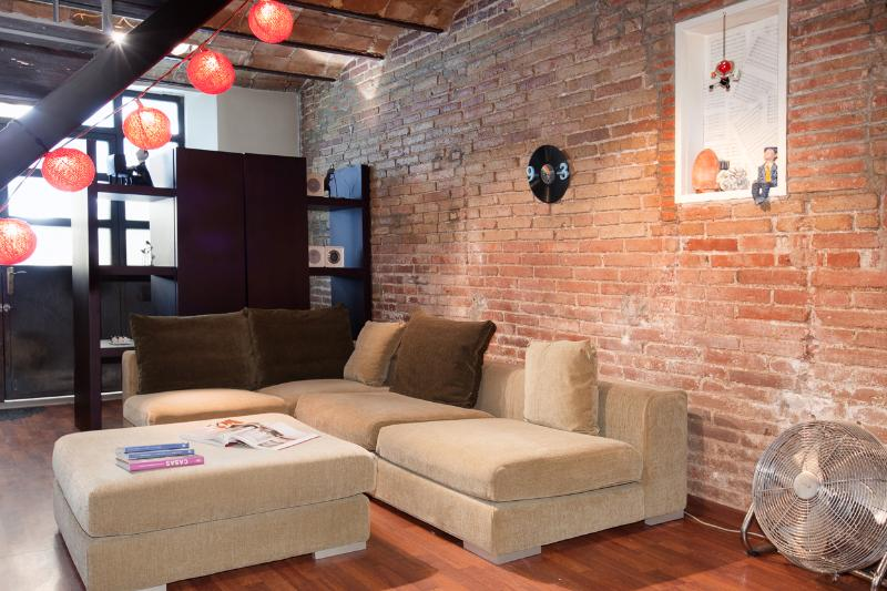 Living room - Industry apartment - Barcelona - rentals