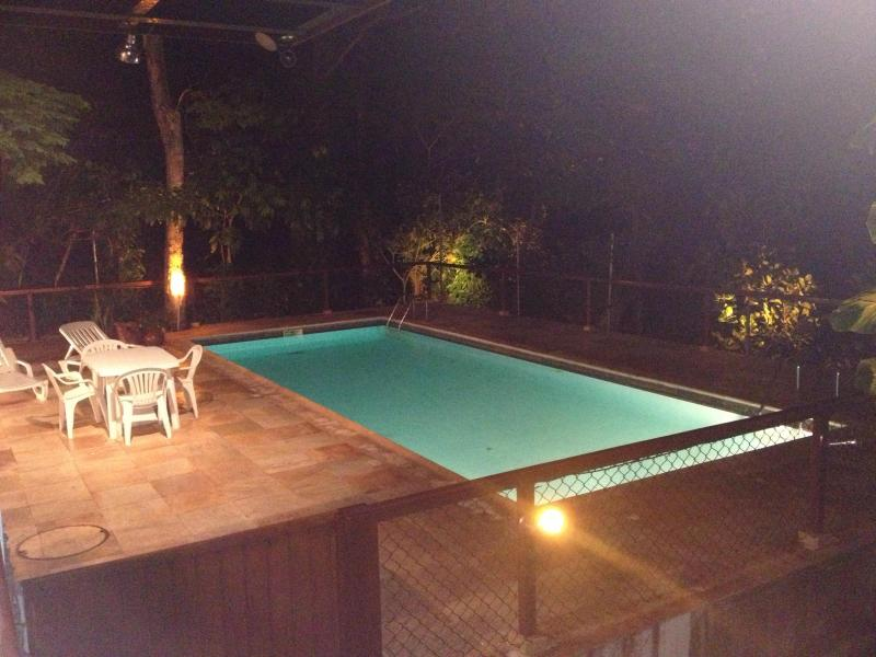Swiming Pool  at night - Large Studio (1000 sq ft) w/ varanda and view - Rio de Janeiro - rentals