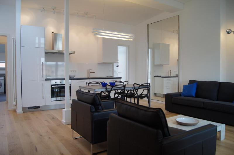 Living room - Elegant apartment Prenzlauer Berg Berlin - Berlin - rentals