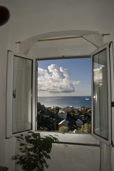 View from the studio - Country atmosphere on top of Genova - Genoa - rentals