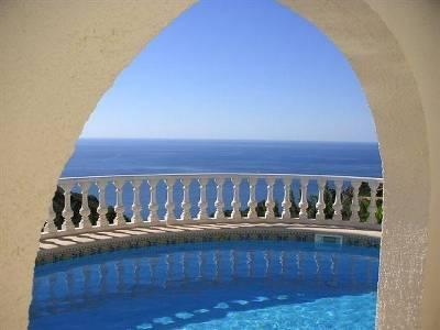 Pool over looking The Med - 4 Bedroom Private Villa (sleeps upto 10) - Teulada - rentals