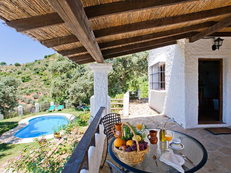 Porch - El Chorro Holiday Villa Rental Rocabella - Alora - rentals