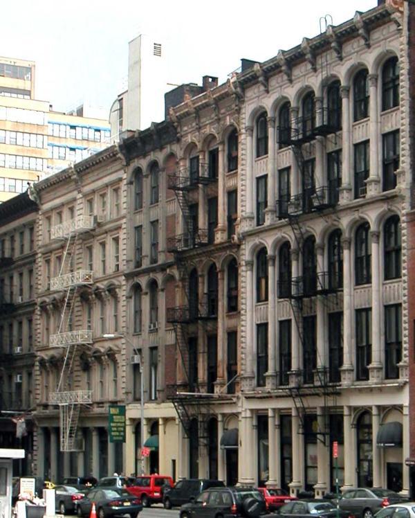 Leonard Street Loft Buildings - Spectacular Architect Loft In Tribeca - New York City - rentals