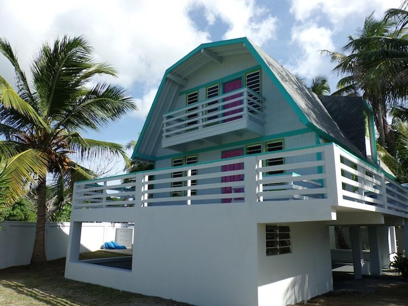 House Exterior - Bodhi Playa Purple AS SEEN ON HGTV CARIBBEAN LIFE - Isla de Vieques - rentals