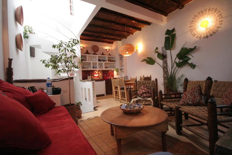2nd floor, living area - 3 bedroom House in the Medina. - Essaouira - rentals