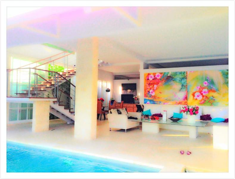 Echo Beach Ocean View Luxury 3 floor House - Image 1 - Canggu - rentals