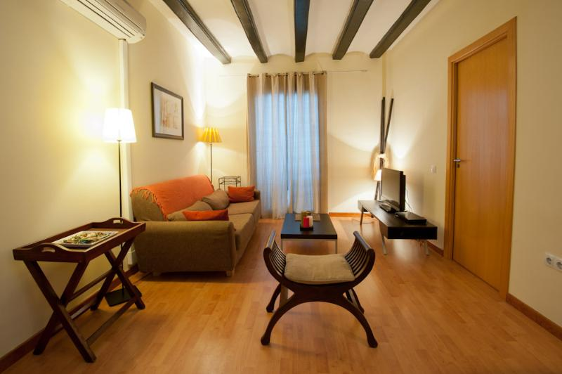 Living room - Ramblas apartment - Barcelona - rentals
