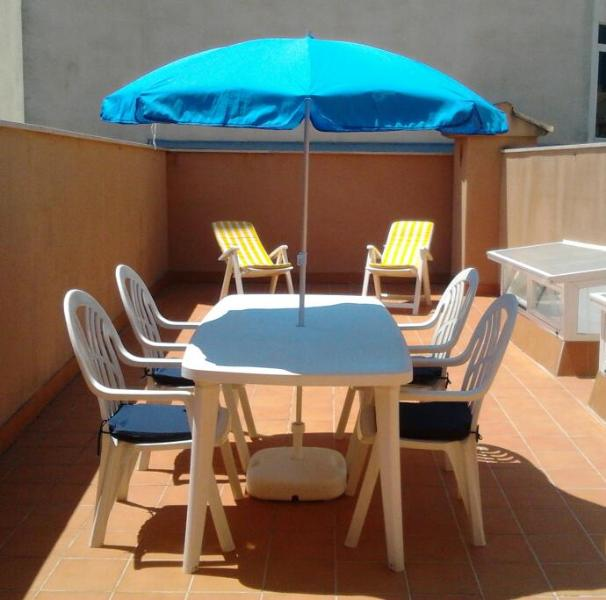 Living room and - Inviting Holiday Apartment In Alcudia (Mallorca) - Alcudia - rentals