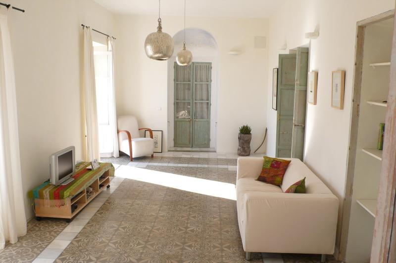 Living Room - Elegant Apartment In Vejer Old Town - Vejer - rentals