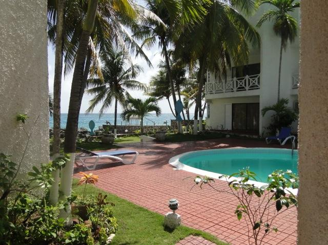View from apartment - 50 steps to Paradise..Chrisanns Beach Resort Apt22 - Ocho Rios - rentals