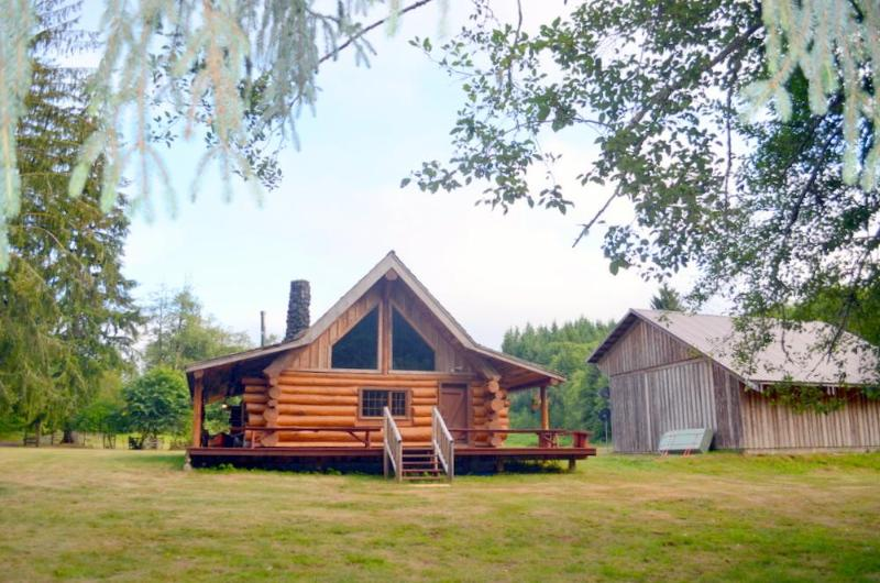 South Fork River Lodge - Beautiful Log Home on Edge of South Fork River in Raymond - Raymond - rentals