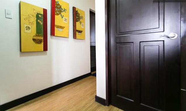 Hallway view from 2nd room - Cozy Three Bedroom in Ohana Place Alabang - Makati - rentals