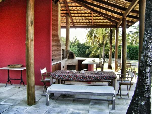 BBQ area - renting my beach house in the North of Brazil - Maracajau - rentals