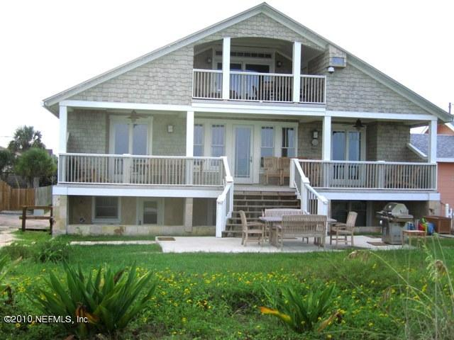 Ocean Front 1926 Craftsman Cottage - Renovated in 2006 - Sleeps 15 - 22 - OceanFront like Pottery Barn - Piano/Billards - Saint Augustine Beach - rentals