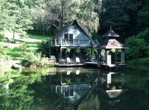 Living Waters ~ A Pond Oasis - Living Waters - Hendersonville - rentals
