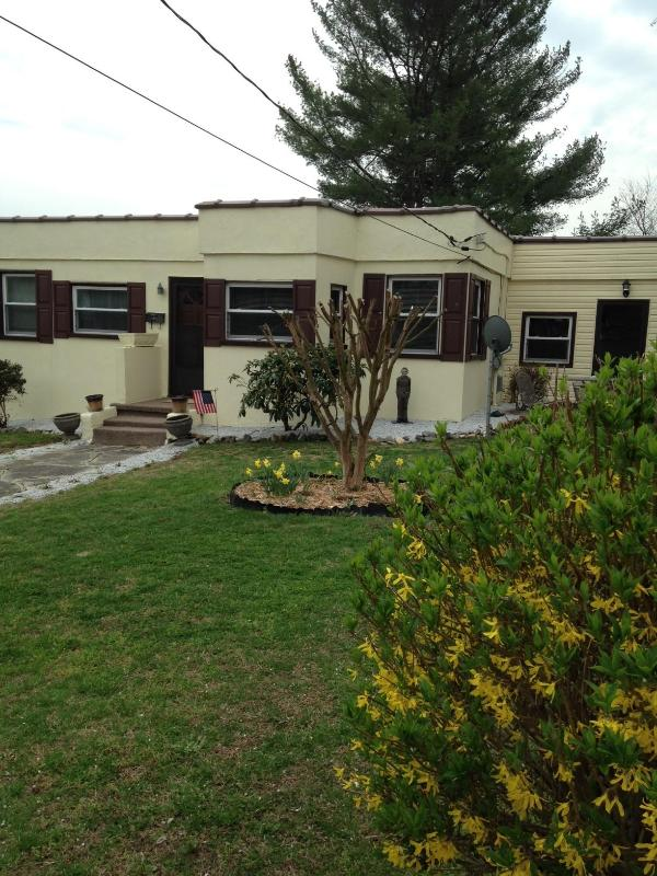 Easy walking distance to downtown Mount Airy,  NC - Image 1 - Mount Airy - rentals