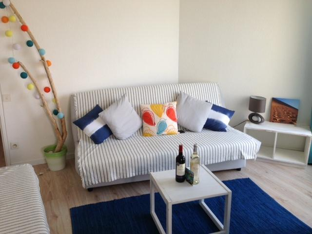 One of two futons that sleep 2 people - Apartment on the beach at St Cyprien - Saint-Cyprien - rentals
