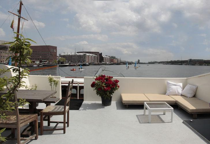 Harbour View Houseboat Apartment - Image 1 - Amsterdam - rentals