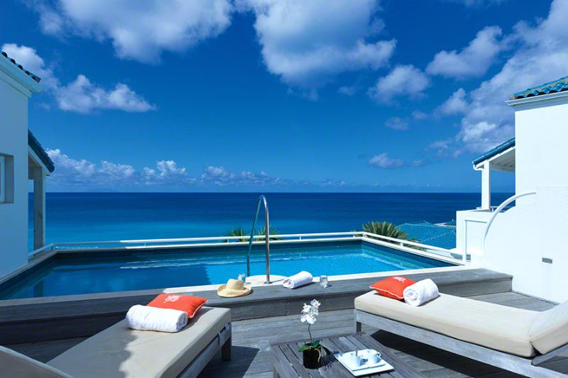 Villa Luna at Shore Point Cupecoy, Saint Maarten - Walk To Beach, Amazing Sunset View, Pool - Image 1 - Terres Basses - rentals