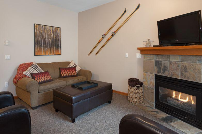 Unwind in front of a warm fireplace, in our newly updated and painted townhome. - Whistler Stoney Creek Northstar 45 - Whistler - rentals