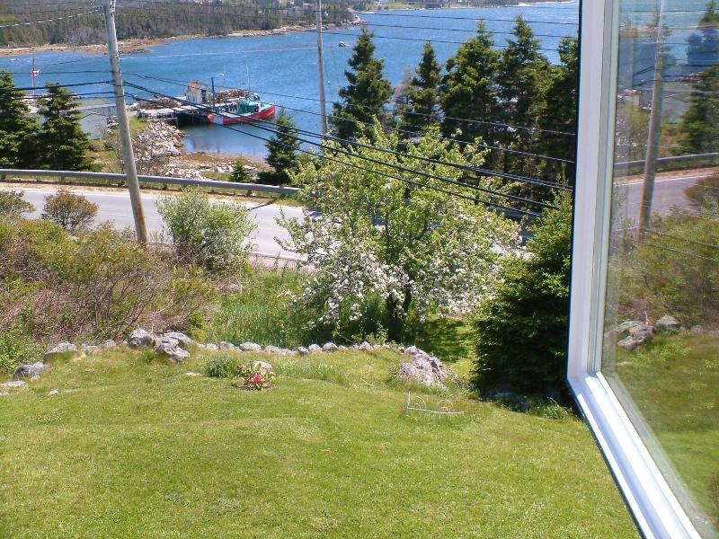 View from south wing bedroom window - Executive Oceanside Cottage Near Halifax - Halifax - rentals