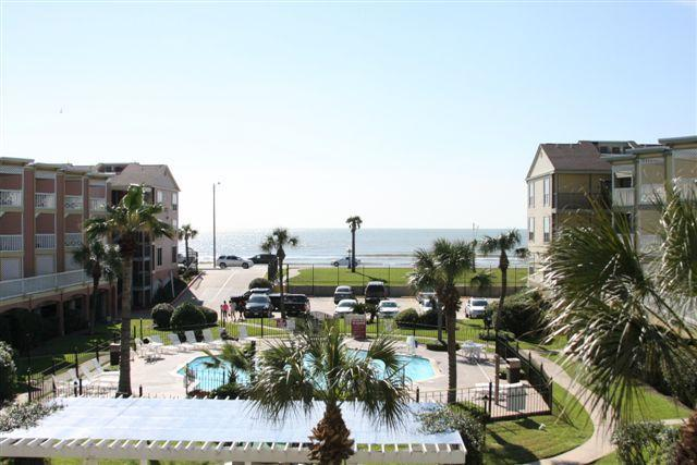 "Beautiful Balcony View - Views of the Gulf & Waterfall Pool. ""Shell Beach"" - Galveston - rentals"